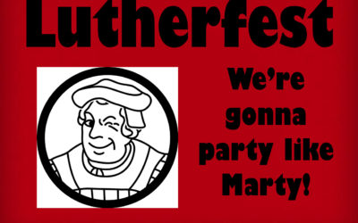 Join us for Lutherfest on October 9th!