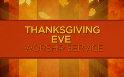Nov. 22nd: Joint Thanksgiving Eve Service at Whidbey Presbyterian