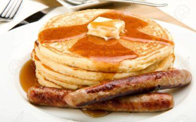 March 3rd: Pancake Breakfast!
