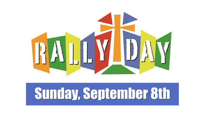Sept. 8: Rally Sunday @ OHLC!