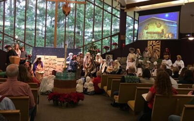 Christmas Eve, 4pm: Family Service