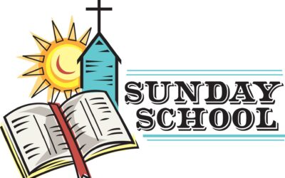 SUNDAY SCHOOL IS BACK!